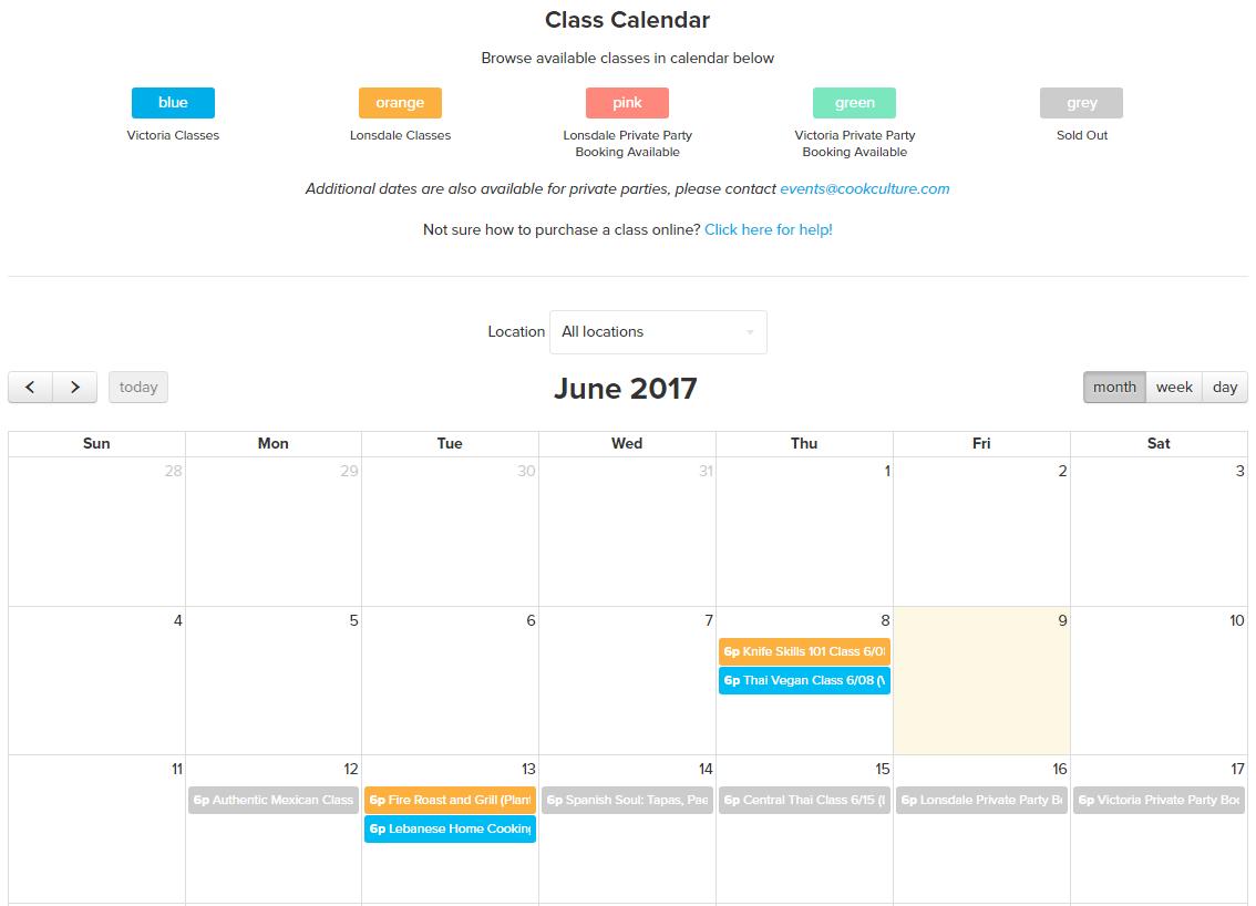 Customizing the Booking Calendar – Zetya Help Desk